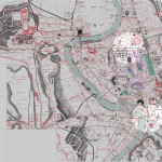 To illustrate some of the tools of the Mapping Medieval Rome project let's focus on two areas of the city.